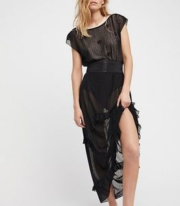 Free People Corset Is Maxi Slip NWT xs